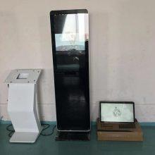 深圳广告机厂家 32寸落地立式广告机 电容屏触摸一体机可选