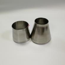 不锈钢大小头 304卫生级异径管 DN80变DN65光面异径管