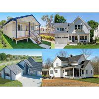 供应装配式房屋 轻钢办公楼 别墅 抗震房 轻钢结构房屋