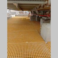 30厚印制线路板化学镍生产线玻璃钢平台盖板 河北华强