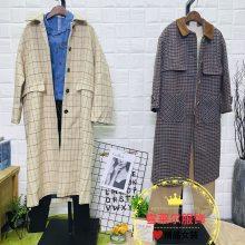 深圳原创品牌女装伊纳芙个性休闲款外套尾货货源市场新款组货包