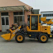 志成四驱轮式加高臂装载机 多功能混泥土装卸车 质量好加厚材质装载机