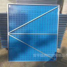钢爬架网 脚手架蓝色外护板 腾欧专业生产提升架网