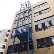 厂家定制壁挂式专用导轨式升降货梯 8吨液压式升降平台