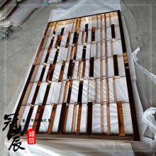 不锈钢切割欧式花纹 镂空不锈钢花格 青古铜不锈钢屏风定制直销