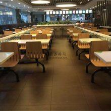 防城港快餐店桌椅批发,商场自选快餐厅沙发桌椅
