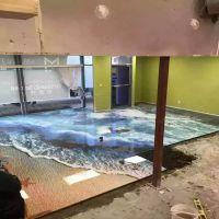 新疆3D地板微晶复合机 EVA胶片玻璃复合机高温夹胶炉