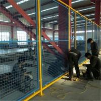 室内仓库隔离栅 框架护栏现货 生活区隔离网