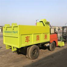润丰机械养殖场清粪车参数 容积可定制四轮清粪机 设计先进扫粪车