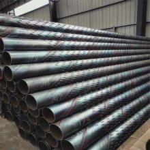 建筑工地用花钢管滤水管273mm/井壁管 基坑深挖降水