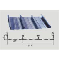无锡1.0mm闭口压型钢板YXB51-200-600型上海新之杰楼承板厂