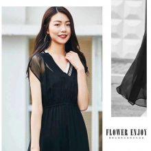 欧美时尚连衣裙 一线艾格品牌折扣女装尾货走份 特价中老年女装
