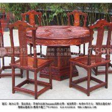 甘肃定制仿明清家具及中式实木桌椅及户内外中式景观打造来找惠森古建