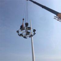 升降式高杆灯 15米灯杆 广场道路灯 30米高杆灯照明 400W投光灯