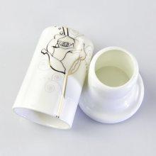 批发骨瓷牙签筒 陶瓷中式家用酒店摆台餐具收纳配件 促销定制画面