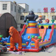 哪里出售幼儿园城堡 房地产活动暖场充气滑梯气模 定制小型充气城堡蹦蹦床