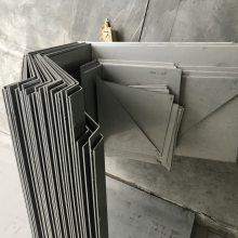 无锡异型不锈钢天沟剪折加工