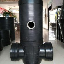 周口700塑料检查井 全身加筋 中空缠绕井筒