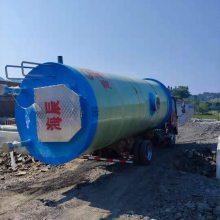 城市农村污水提升 地埋式污水处理设备 雨污水预制泵站设备