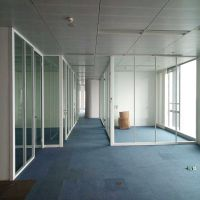 工厂车间玻璃隔墙高隔断