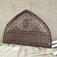 广州木纹铝窗花厂家 方通焊接铝窗花价格