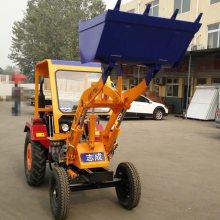 大马力低油耗装载机 家用小型轮式装载机 多功能饲养场清理车