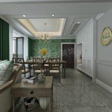 北大资源蘭庭序/兰亭序装修案例,143平米户型设计方案,渝北天古装饰