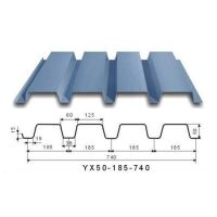 建筑钢承板 YX50-185-740型镀锌楼承板_上海新之杰