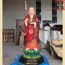 【地藏王 闵公道明】佛像图片 三面地藏王菩萨塑造厂家