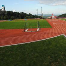 广西塑胶跑道材料 学校***无味塑胶跑道 体育场塑胶跑道
