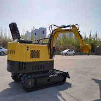 微型迷你挖掘机 全新小型园林绿化挖机 农用小型挖挖机