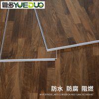 免胶SPC石塑地板锁扣PVC地板革家用加厚防水防火塑胶地板地胶木纹