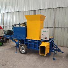 内蒙牧草压捆机 秸秆饲料打包机