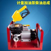 12v/24v/220v计量甲醇柴油加油机计量计价组合泵抽油泵