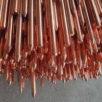 铜包钢接地棒电力避雷针配件电力接地装置室外家用防雷接地针厂家