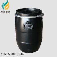 新沂50升耐酸碱化工塑料桶 扬州50L包箍塑料桶厂家 密封效果好 强度高