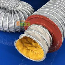 暖通耐高温带保温软管 保温风管实验室测试系统 环境试验通风管