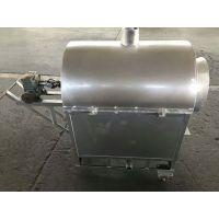小型滚筒开心果炒料机 小型燃煤干果炒货机