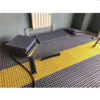 拼接防滑篦子四方扣板高分子塑料塑胶格栅板