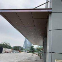 烤漆氟碳门头铝板装饰_户外墙面门头铝板_德普龙制造商