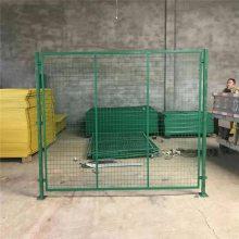 场地隔离网现货 深圳车间设备防护网 框架护栏网厂家