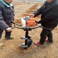 水果种植施肥打眼机 多功能开沟种树挖坑机