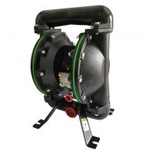 广西1.5寸气动隔膜泵厂家 锐勒涂料油漆气动输送泵