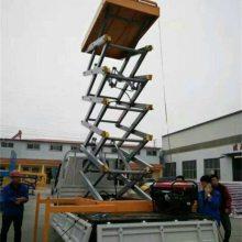 航天车载式液压升降平台 曲臂式升降平台 高空作业车 360度操作