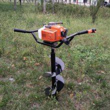 小型果树施肥打孔机 经济耐用螺旋钻孔机 新型汽油二冲程钻孔机