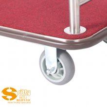 专业生产SITTY斯迪92.2008A砂光不锈钢手推行李车