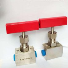 热销优质高压元器件针阀 耐高压不锈钢材质针阀 超 高压针阀