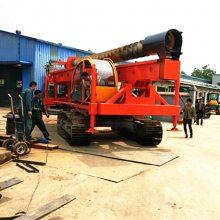 履带式长螺旋打桩机 10米长螺旋打桩机 18米螺旋打桩机厂家直销