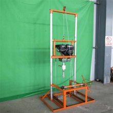 山东打井机厂家供应小型汽油打井机农村打深水井钻机设备钻井机