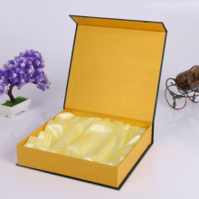 深圳厂家高档天地盖皮带盒定做,精美黑色礼品盒精装盒定做